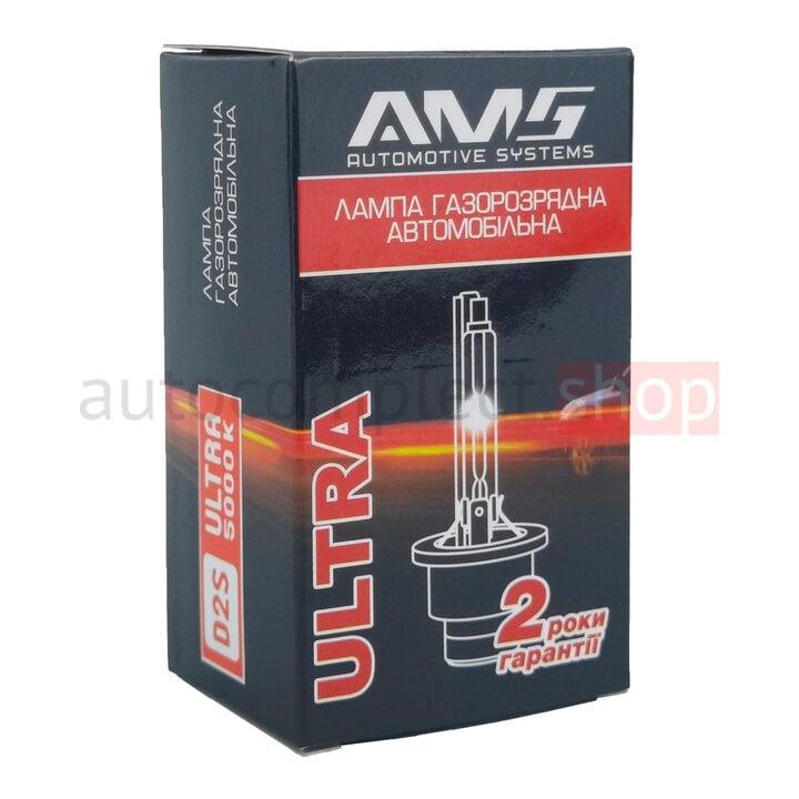 Лампа ксеноновая AMS Ultra D2S 6000K