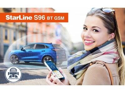Starline S96 BT GSM: умная защита и онлайн-коммуникация с автомобилем